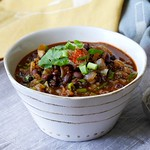 Smoky Black Bean Soup Recipe