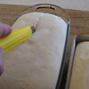 "(20) just before putting in the oven ""score"" the loaves, this is very important!!!"
