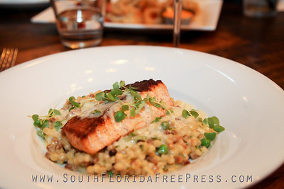 Pan Roasted Sixty South Salmon & Risotto (OMG)