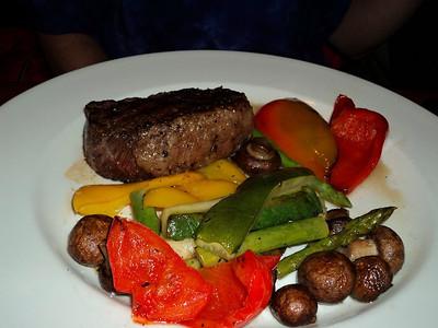 """New York Classic Steak - Tender New York striploin.  Served in """"The Keg"""" in London, Ontario  30/01/14"""