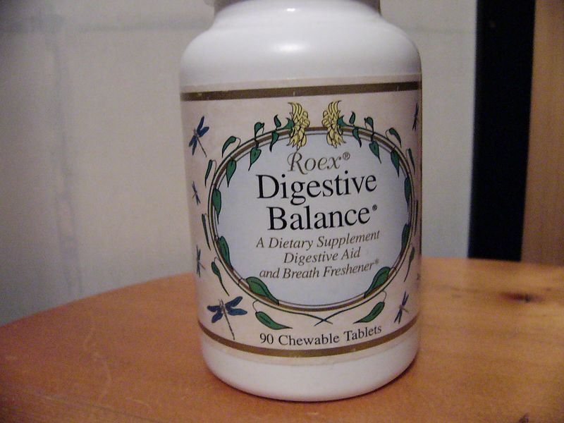 "Front Label of <a href=""http://www.roex.com/dig_bal.htm"">Digestive Balance</a>"
