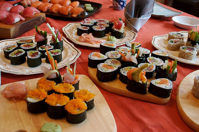 Sushi Dinners