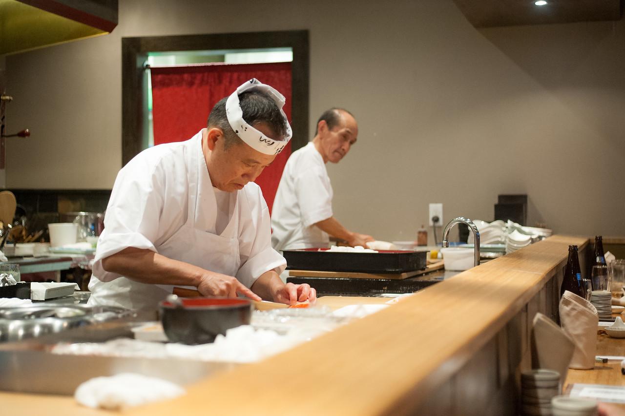 Kitty and Chris - Sushi Kaji Restaurant Etobicoke Toronto Foodie - September 2014 025