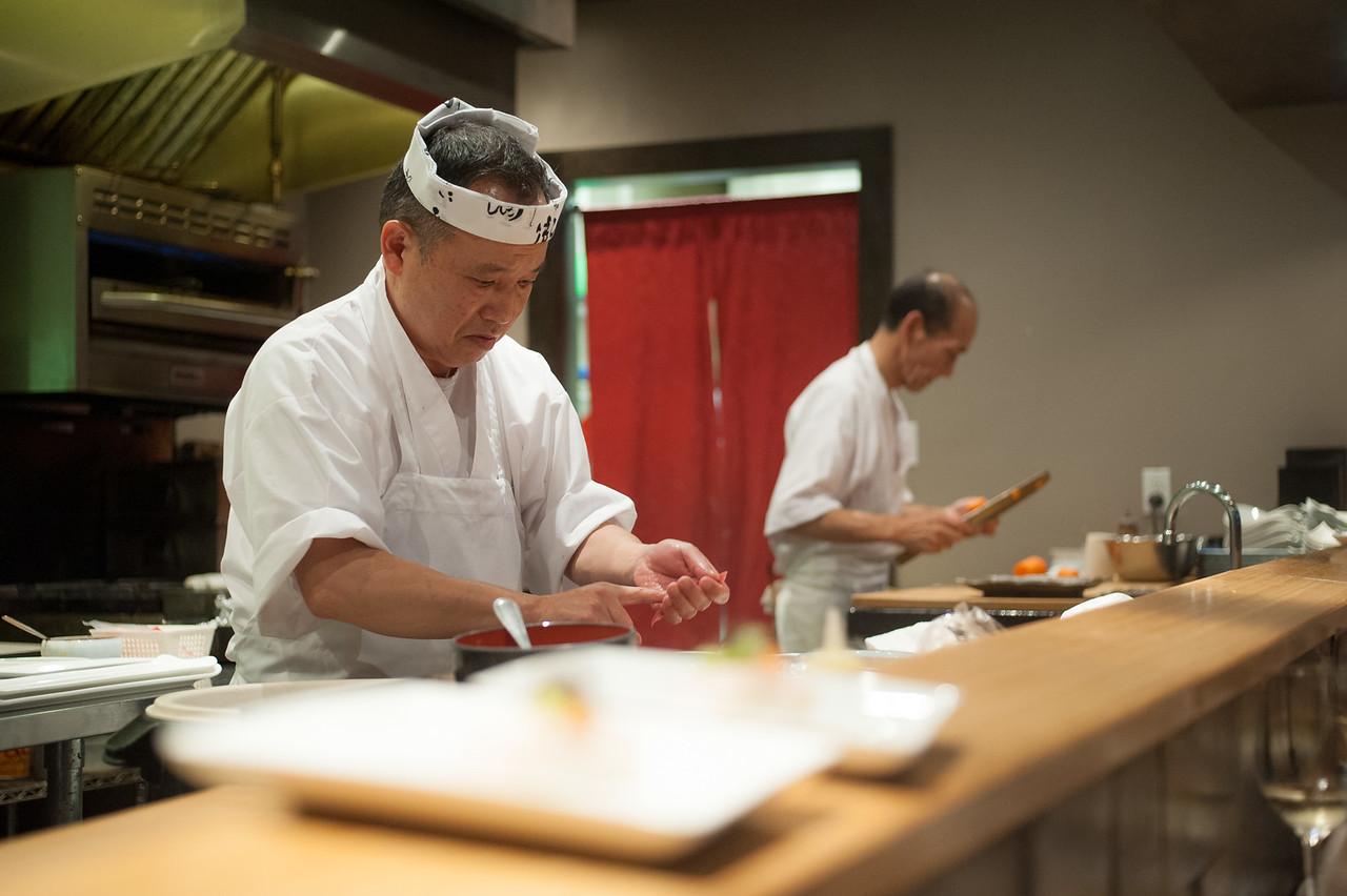 Kitty and Chris - Sushi Kaji Restaurant Etobicoke Toronto Foodie - September 2014 048