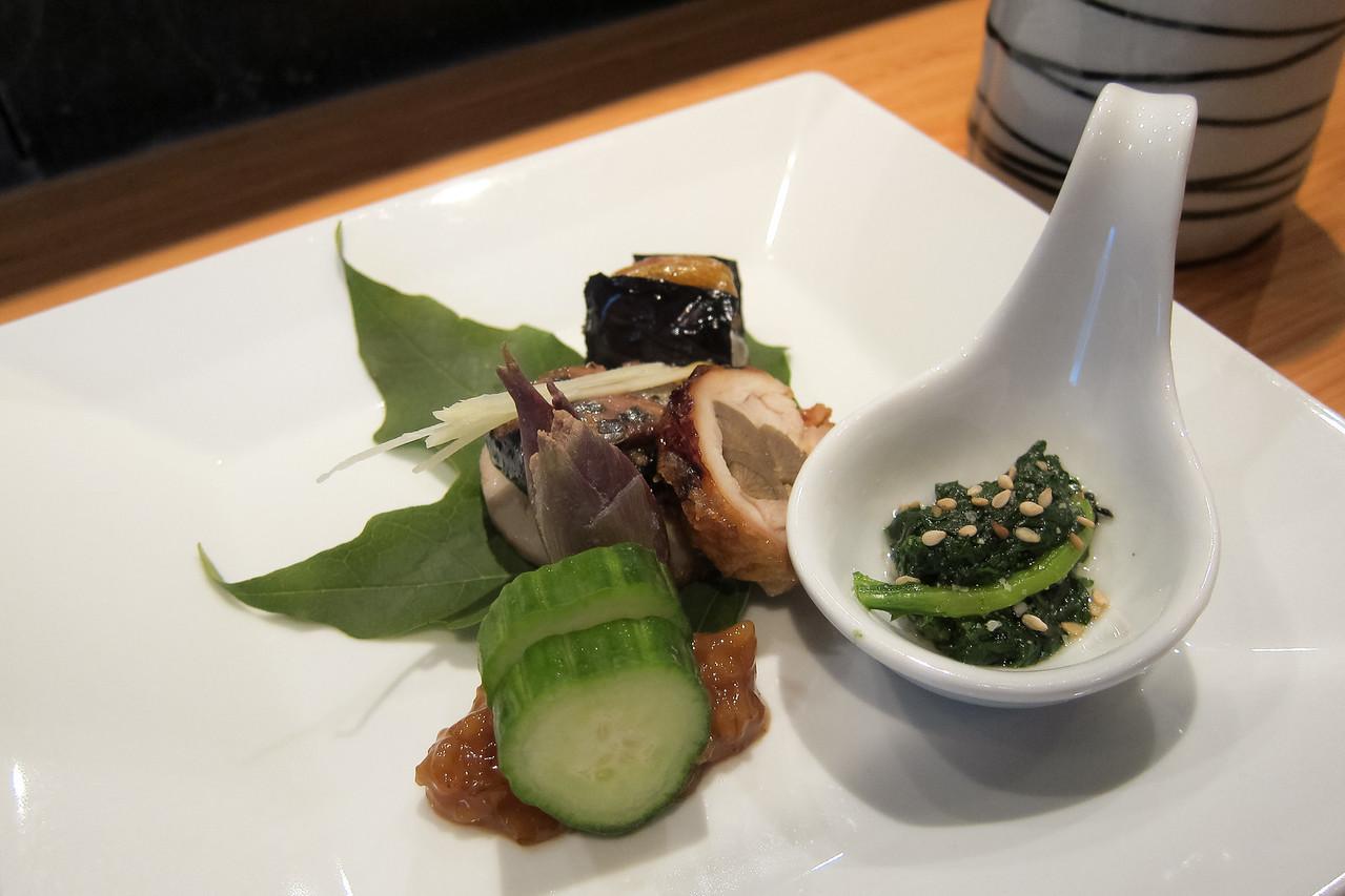 Kitty and Chris - Sushi Kaji Restaurant Etobicoke Toronto Foodie - September 2014 007