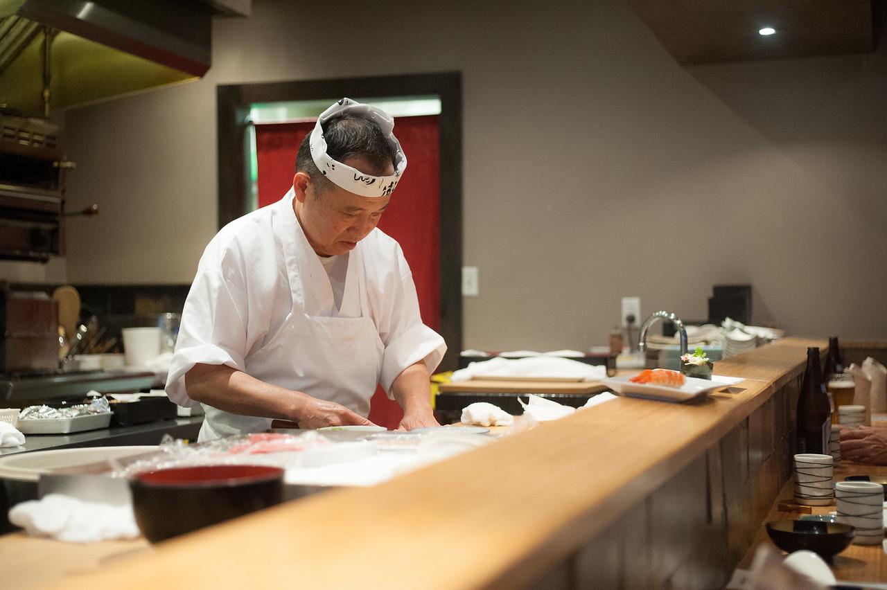 Kitty and Chris - Sushi Kaji Restaurant Etobicoke Toronto Foodie - September 2014 010