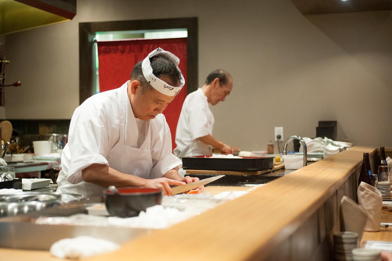 Kitty and Chris - Sushi Kaji Restaurant Etobicoke Toronto Foodie - September 2014 024