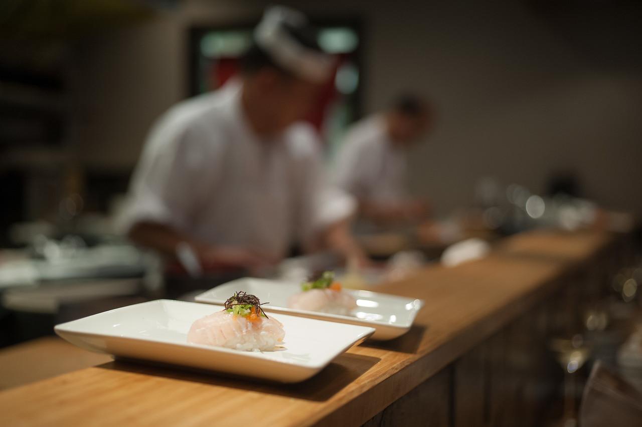 Kitty and Chris - Sushi Kaji Restaurant Etobicoke Toronto Foodie - September 2014 047