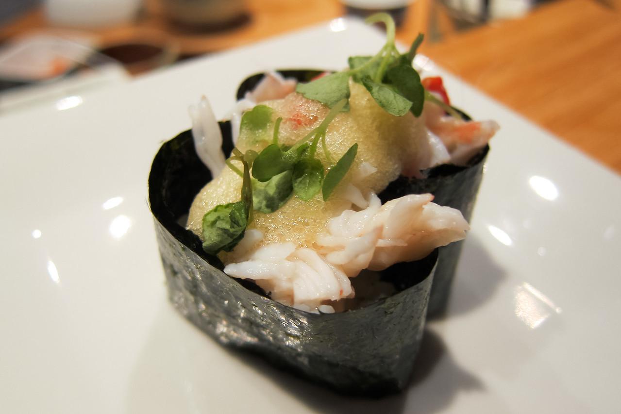 Kitty and Chris - Sushi Kaji Restaurant Etobicoke Toronto Foodie - September 2014 039