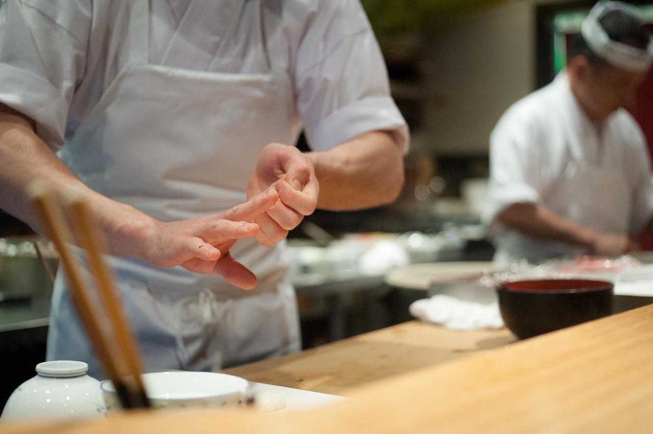 Kitty and Chris - Sushi Kaji Restaurant Etobicoke Toronto Foodie - September 2014 009