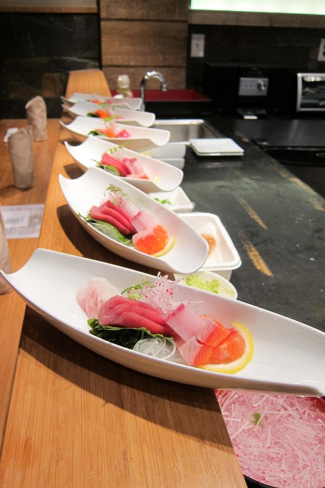 Kitty and Chris - Sushi Kaji Restaurant Etobicoke Toronto Foodie - September 2014 021
