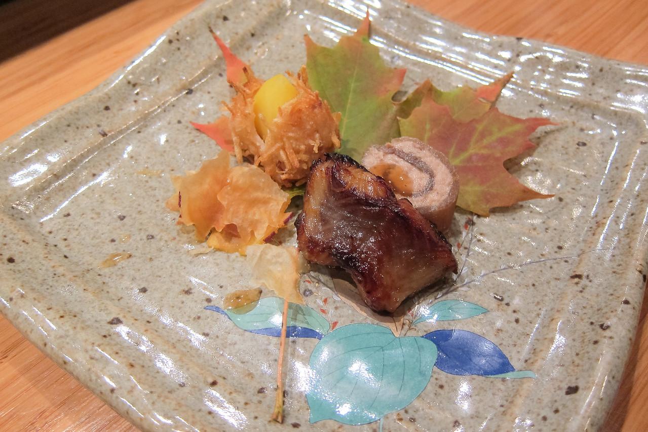 Kitty and Chris - Sushi Kaji Restaurant Etobicoke Toronto Foodie - September 2014 022