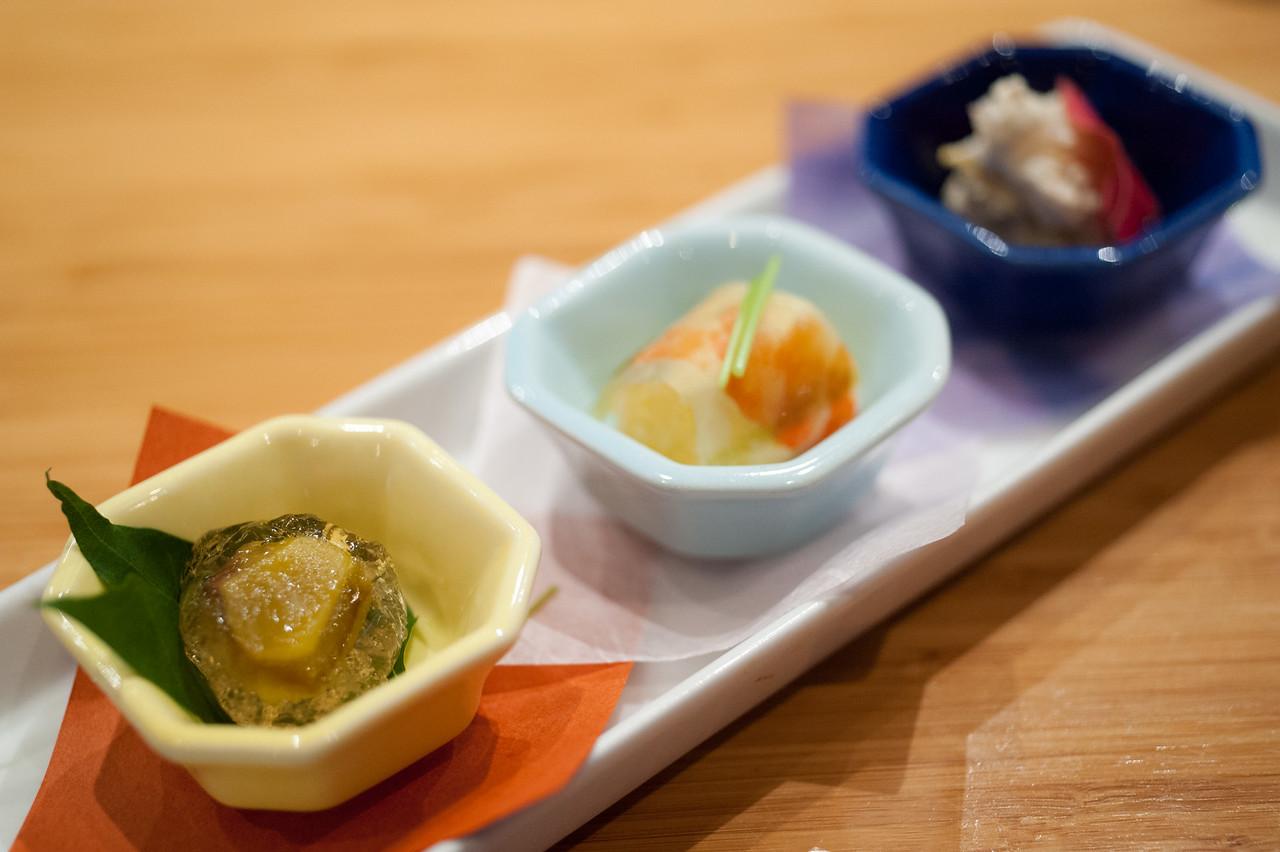 Kitty and Chris - Sushi Kaji Restaurant Etobicoke Toronto Foodie - September 2014 008