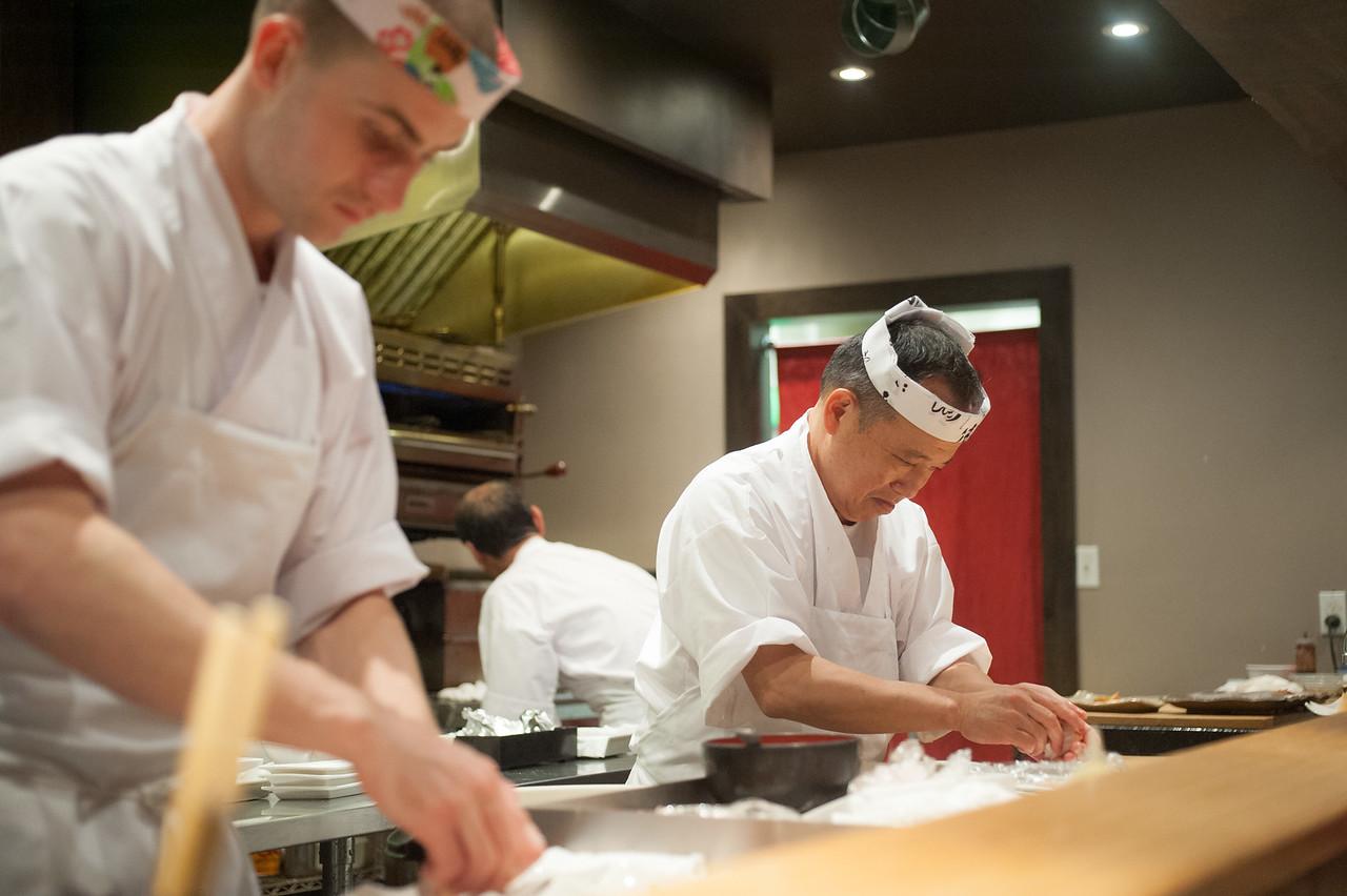 Kitty and Chris - Sushi Kaji Restaurant Etobicoke Toronto Foodie - September 2014 029