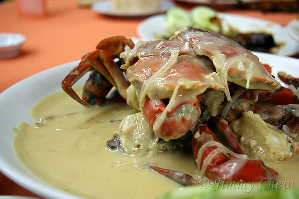 Cheesy Crab.