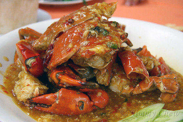 Sweet & Sour Crab.