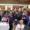 """Many came out to the """"Taste of Leominster"""" on Wednesday night at City Hall. SENTINEL & ENTERPRISE/JOHN LOVE"""