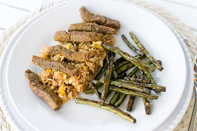 Tasty Tuesday: Steak Strips with Fried Rice | January 2015