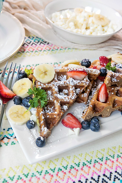 Tasty Tuesday: White Chocolate Chip Fruit Waffles | May 2015