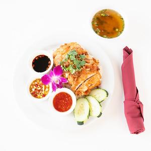 TSG fried chicken platter-07349