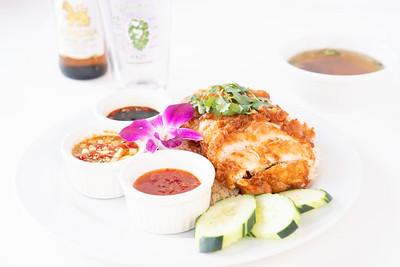 TSG fried chicken platter-07358