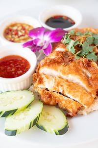 TSG fried chicken platter-07395