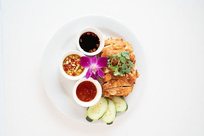 TSG fried chicken platter-07345