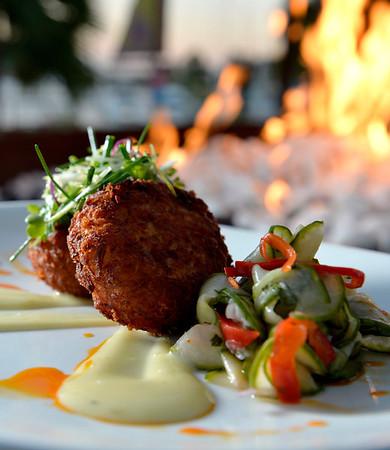 The Fuego at the Maya Restaurant at Hotel Maya in Long Beach,