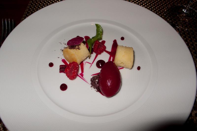 Radish sorbet (Corey's)