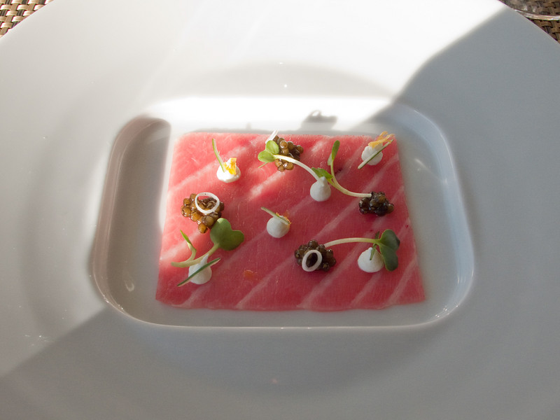 Cold Smoked Toro: Osetra Caviar, Crème Fraiche, Warm Brioche