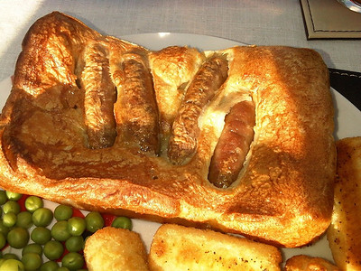 Toad in the Hole from Morrisons  19/04/13