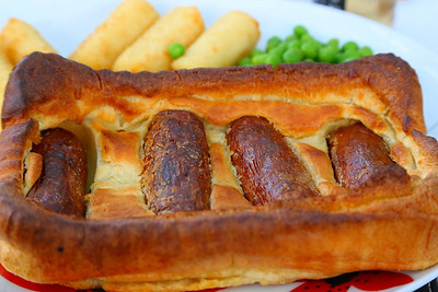 Toad in the hole - from Marks & Toad in the holeSpencers  31/05/14