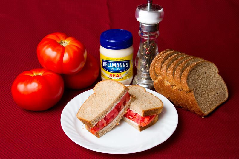 Tomato Sandwich 20100801 003