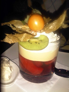 "Trifle, served in the ""Two Mile Oak"" near Newton Abbot  07/12/12"
