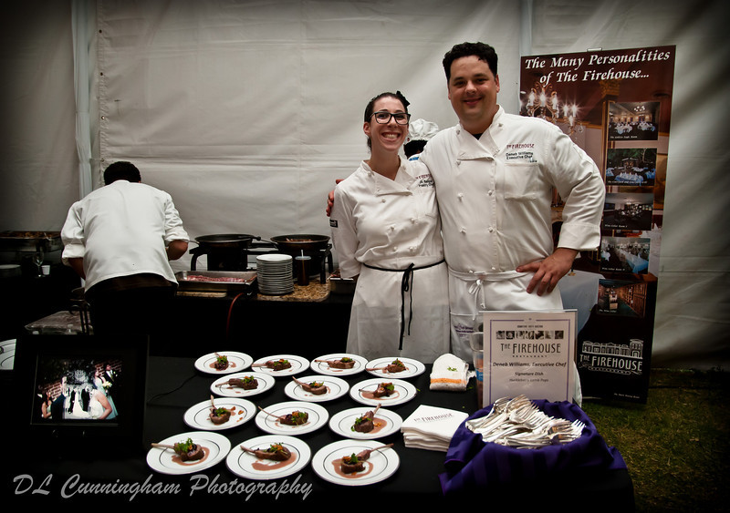 Chef Deneb Williams and Jill Berger