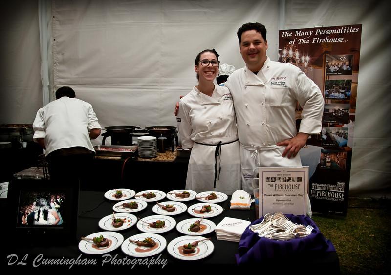 Chef Deneb Williams and Jill Berger