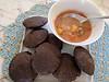 Buckwheat poori and aloo sabji