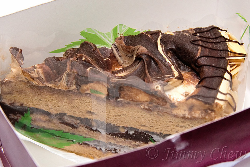 Mochachino cake - take away.