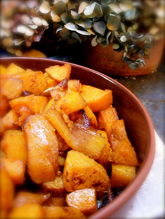 Carmelized Butternut Squash and Shallots