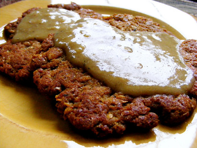 Chickpea Cutlets with Gravy