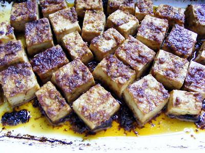 Asian-Style Savory Baked Tofu