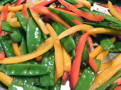 Stir Fry Peppers & Peapods