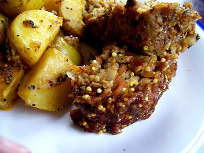 Veggie Meatloaf & Roasted Potatoes