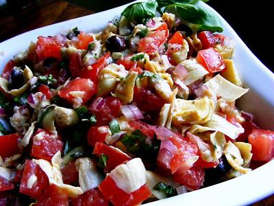 Artichoke & Olive Salsa