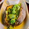 Baked Potato with Broccoli