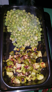 Brussels Sprouts & Peas