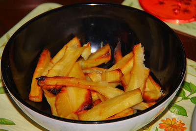 Honey Glazed Homecooked Parsnips 26/12/11