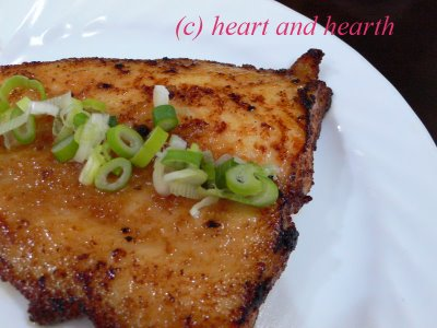 Fish with Miso Glaze