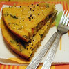 Handvo Vegetable Cornmeal Cake
