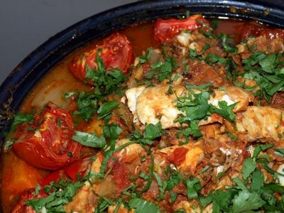 Fish Fresh and Fennel Tagine